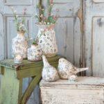 French cylinder vase – large