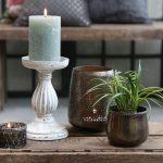 Pillar candle holder – small