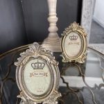 Victorian photo frame in silver – main image